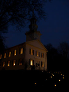 Christmas Eve at the Congregational Church of Easton