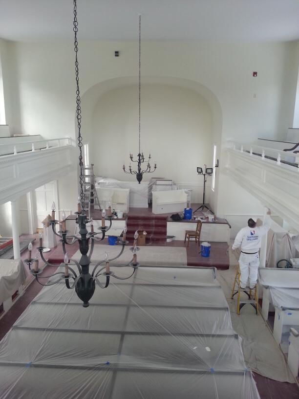 church sanctuary renovation